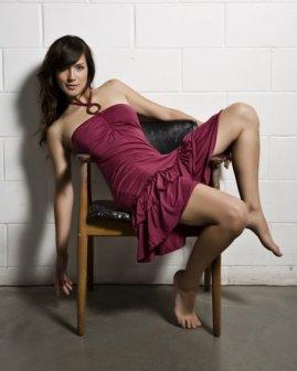Lav & Kush O-Ring Dress
