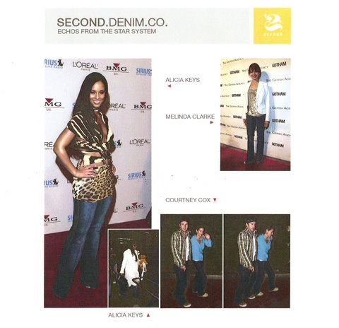 Second Denim Worn by Celebs